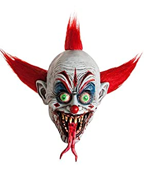 Freckle Scary Adult Mask - Unique Creepy Halloween Mask Design - Realistic Face Costumes- Scariest Masks Ever For A Fun Halloween -Adults Horror Costume Pure Evil - Killer Clown Skeezy the Clown Mask