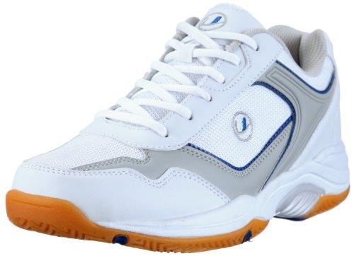 Ultrasport Sport Indoor Schuh,10069, Herren Sportschuhe - Indoor, Weiss (White/blue 100), EU 46