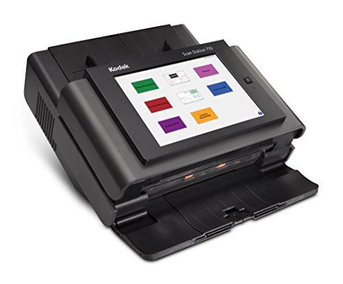 Kodak Scan Station 710 - DIN A4 Netzwerk-Dokumentenscanner, duplex, 70 Blatt pro Minute, LCD-Touch-Display, 75 Blatt ADF, 10/100/1000-Base-T, PDF-Verschlüsselung