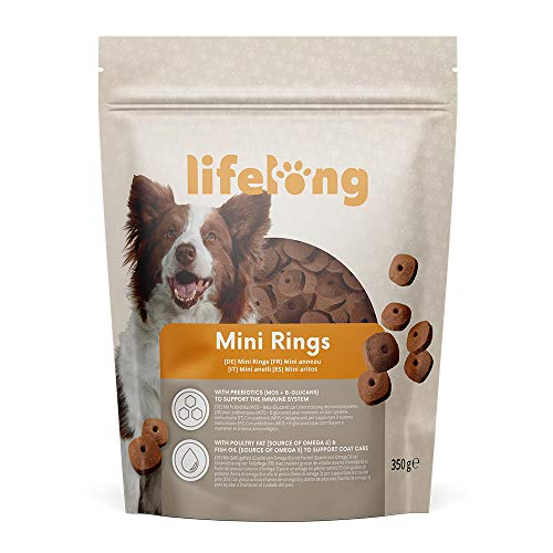 Amazon-Marke - Lifelong - Mini Ringe - 350g*6