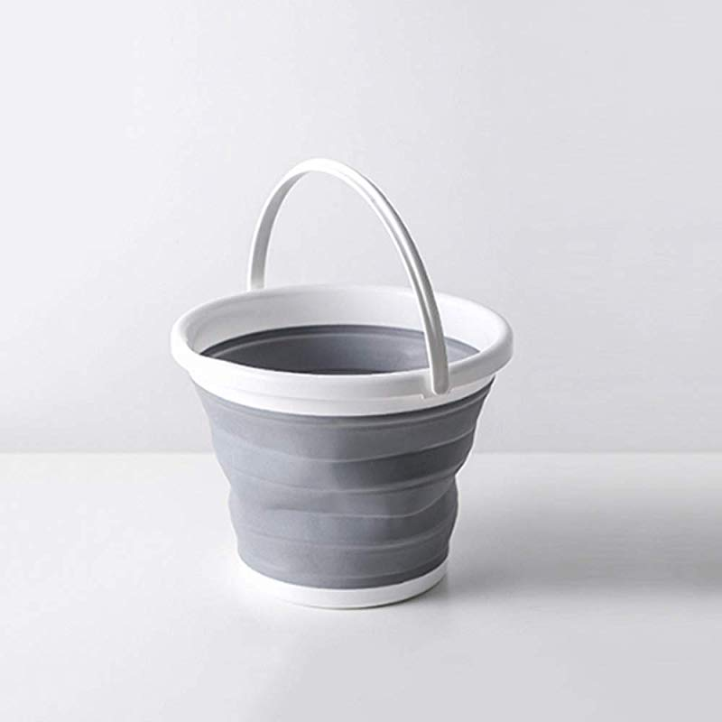 FNCUR High End Travel Bucket PP TPR Material Thickened Compressed Water Basin Foldable Portable Wash Basin Baby Washbasin Washtub Home Use
