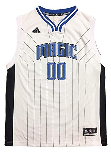 Outerstuff Aaron Gordon Orlando Magic #00 Youth Home White Replica Jersey (X-Large 18/20)
