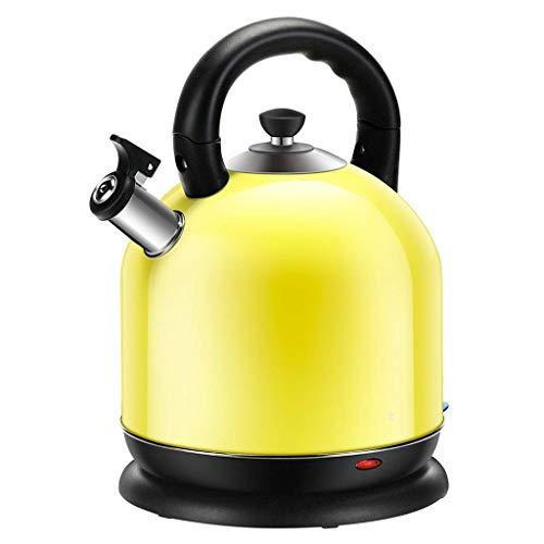 YFGQBCP Calentador de Agua Hervidor de Agua eléctrico de Acero Inoxidable 304 de Gran Capacidad Hervidor de Agua Apagado automático (tamaño: 27 * 23.5 * 32 cm)