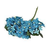 人工観葉植物 フェイクグリーン 1ブーケ造花偽物植物手作りフラワーコアプラスチック素材ホームパーティー結婚式のフェスティバルの装飾 装飾的な人工植物 (Color : 18)