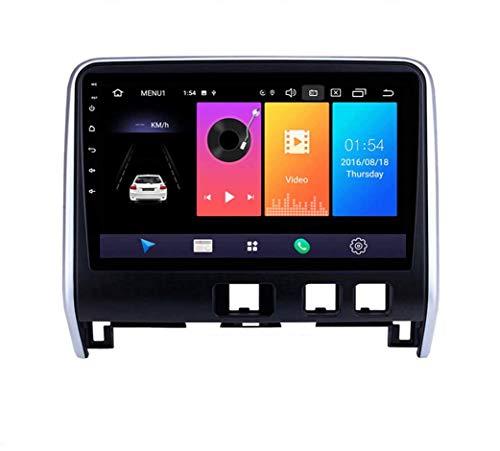Android 9.0 Radio estéreo para automóvil compatible con Nissan Serena 2016-2018 Navegación GPS Unidad principal de pantalla táctil HD de 9 pulgadas Reproductor multimedia MP5 Video con 4G WiFi DSP SW