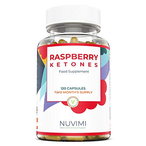 Raspberry Ketones 4000mg - 120 Raspberry Ketone Tablets (2 Month's Supply) - Raspberry Ketones Max Strength Capsules, Created to Increase Results - Made in The UK by Nuvimi