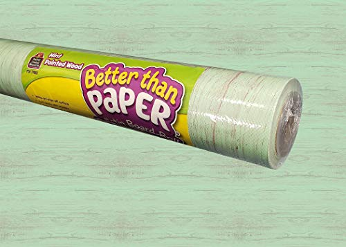 Teacher Created Resources Mint Painted Wood Better Than Paper Bulletin Board Roll (TCR77883)