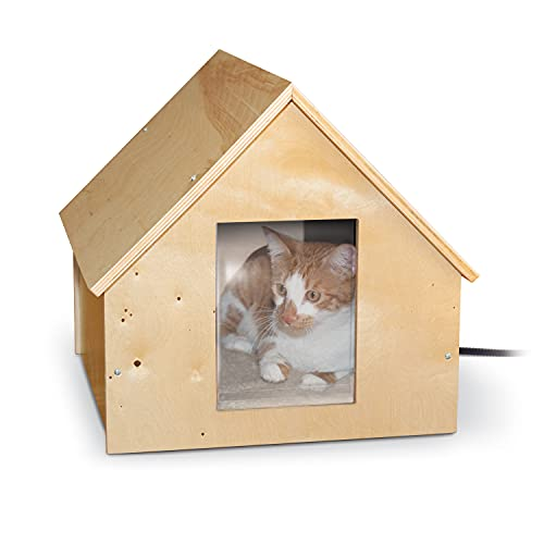 K&H Pet Products Thermo Birchwood Manor Kitty Home...