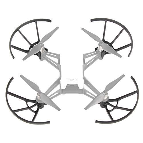 Moonbaby nieuwe 4 PCS Propeller beschermhoezen voor DJI TELLO Drone (zwart), Zwart