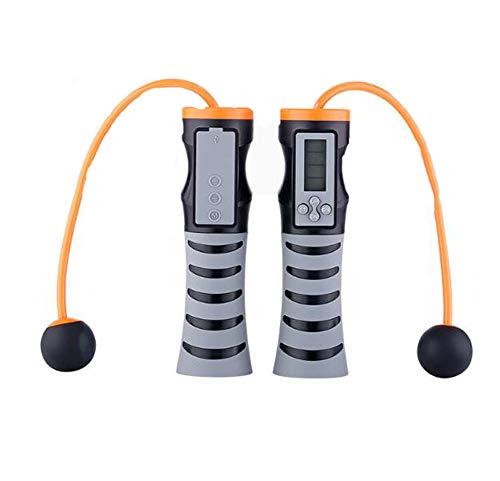 Intelligente Elektronische SpringseilzählungSpringseil Bluetooth Musik Drahtlose SpringseilSchwarz