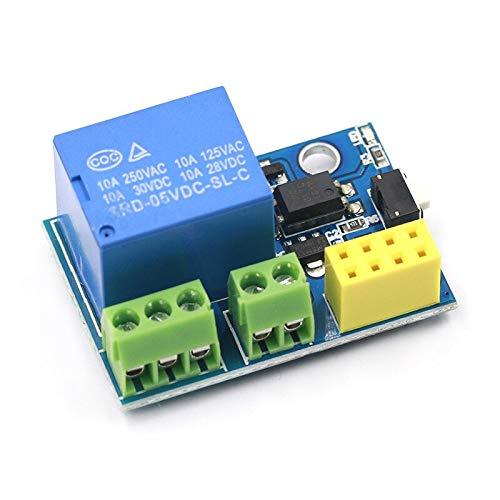 IGOSAIT ESP8266 ESP-01/01S 5V módulo de relé WiFi cosas Smart Home Control remoto interruptor teléfono APP ESP01 ESP-01 módulo inalámbrico WIFI (tamaño : tablero)