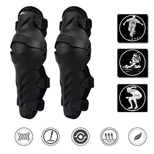 YILIFA Elbow Knie Shin Guard Pads Motorfiets Knie Pads Beschermende Gear Verstelbare Crashproof Antislip Knie Beschermende Gear Benen - voor ATV Motocross Riding Skate Skateboard