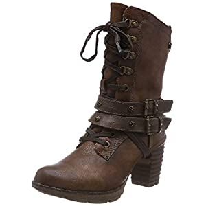 MUSTANG Ankle Boots Shoes Brown | DeHippies.com