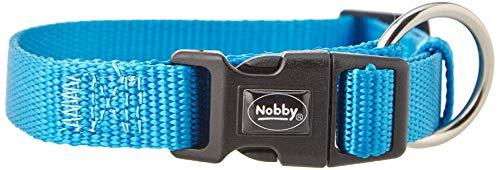 Nobby Classic Collier Réglable pour Chien Bleu Clair 30-45 cm