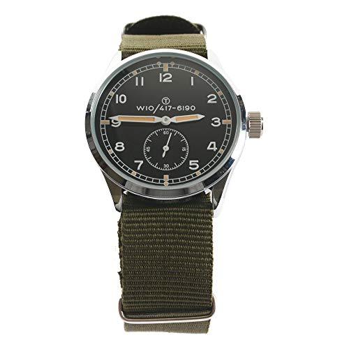 WW2 British Army Style Military Service Watch - The Dirty Dozen