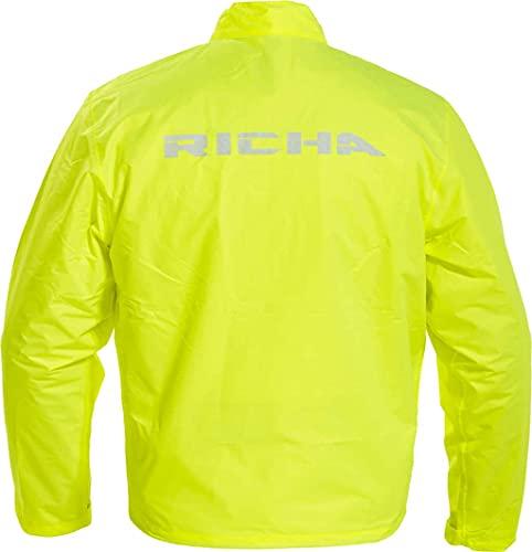 Richa - Giacca antipioggia Full Fluo Waterproof - Taglia : L