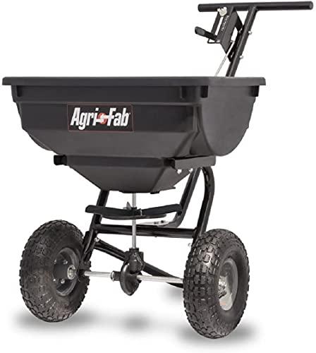 Agri-Fab 45-0532 Pro Push Spreader, 85 lb, Black