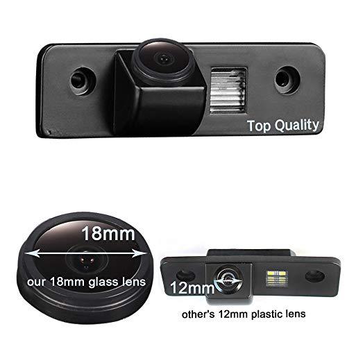 Super HD vehicle camera 1280x720 pixels 1000 TV Car Rear View Backup Camera 170°reverse for Skoda Octavia 2 RS 1Z MK2 Facelift Superb 2 Fabia 2 Roomster Tour Ford Mondeo MK2 MK3 Metrostar Fiesta MK5 F