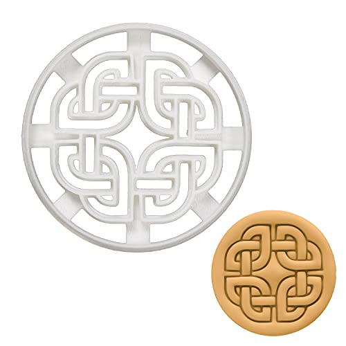 Nordic Runes - Celtic Shield Knot cookie cutter, 1 piece - Bakerlogy