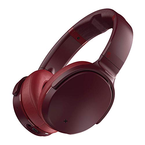 Skullcandy Venue Active Noise Cancelling Wireless Headphones, Moab/Red (Renewed)