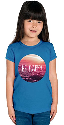 Be Happy Swag Hipsters Hype Relax Chill Tumblr Chillin Girls T-Shirt 2/3 Yrs