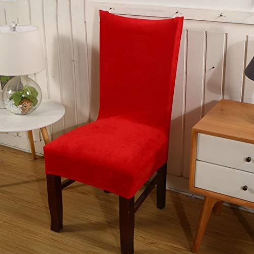 MAIAMY Einfarbig samt dicken elastischen esszimmerstuhl Abdeckung Spandex klappbar für bankett Hotel büro sitzbezüge