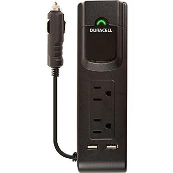 Duracell DRINVPS175 Black 175 Watt Portable Power Inverter