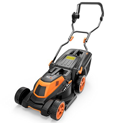 TACKLIFE Lawnmower, 1600W Electric Lawn Mower, Cutting Width 38cm, 6 Lever of Cutting...