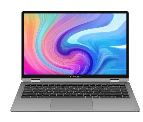 Teclast X6 plus.Notebook 12.6    Windows 10 Home Versione Intel Gemini Lake N4100 Quad Core da 1,1 GHz 8GB RAM da 256GB SSD da 2,0 MP Computer portatili touch screen laptop