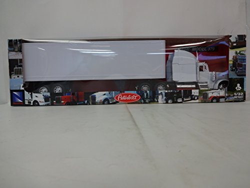 Price comparison product image Peterbilt 379 With Dry Van - All-White Toy Truck