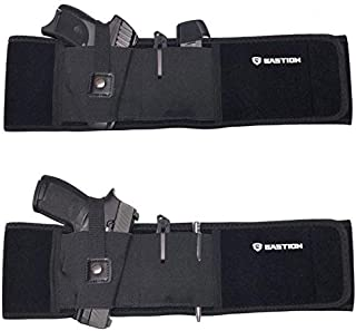 BASTION Belly Band Holster Conceal Carry IWB OWB Appendx Fits Glock S&W and More