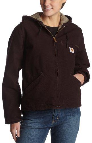 Carhartt Sandstone Sierra Jacket Chaquetas, Deep Wine, S Regular para Mujer