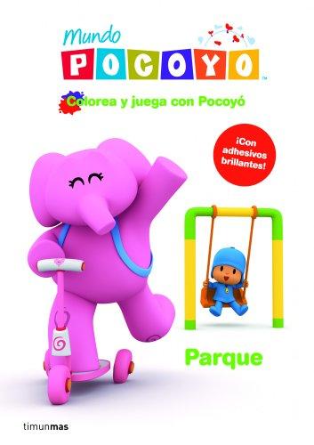 Colorea y juega con Pocoyo. Parque
