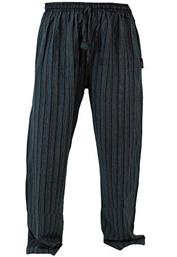 Guru-Shop Yogahose, Goa Hose, Herren, Schwarz, Baumwolle, Size:M (48), Männerhosen Alternative Bekleidung