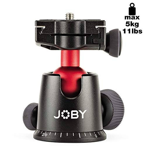 JOBY JB01514-BWW BallHead 5K professioneller Kugelkopf (geeignet für DSLR und CSC/spiegellose Kameras, Traglast bis zu 5kg)