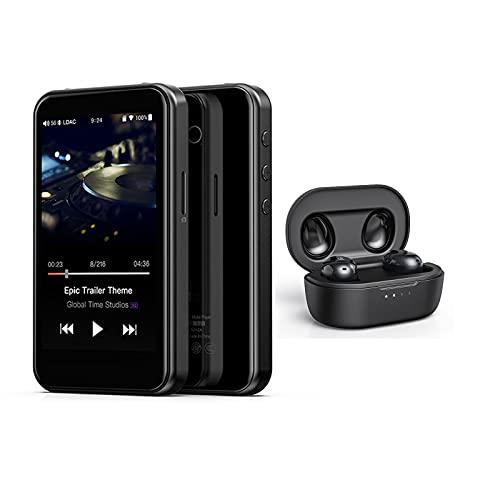 YaGFeng FiiO M6 + FiiO FW1 Lettore Musicale Lossless Ad Alta Definizione AK4377 32 Bit / 384 KHz DSD128 Bluetooth MP3 Portatile DAC USB LDAC/AAC/AptX HD/AptX