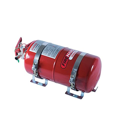 Lifeline 102-400-001 Zero 2000 Fire Marshal 4.0 ltr Steel Fire Extinguisher System