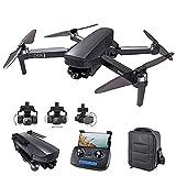2021 NEU Drohne 3-Achsen Gimbal,Drohne mit Kamera 4K 4/5G Wifi GPS Smart Follow,Erkennung von Gestenaufnahmen,Festkomma-Surround,,Bild- / Video-Sharing,Professionelle Drohne 50X Faltbarer Quadcopter