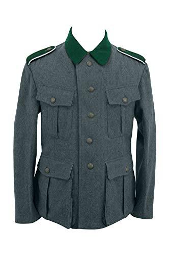 Militaryharbor WW2 WWII German M36 EM Italienische Feldbluse blau grün grau - - XXX-Large