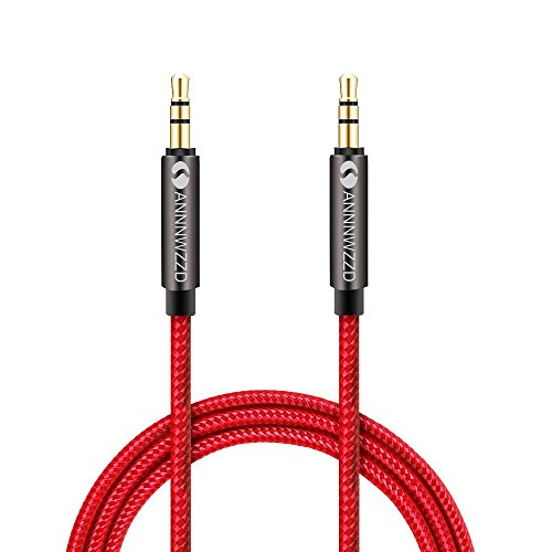 LINKINPERK Aux-Kabel, Stereo-Audiokabel, 3,5 mm-Klinkenstecker auf 3,5 mm-Klinkenstecker(0.5M)
