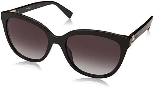 Max Mara Damen MM TILE 9O 807 55 Sonnenbrille, Schwarz (Black/Grey)