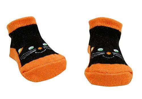 Trend Lab Baby's Black Purrfect Baby Socks 0-3 months C