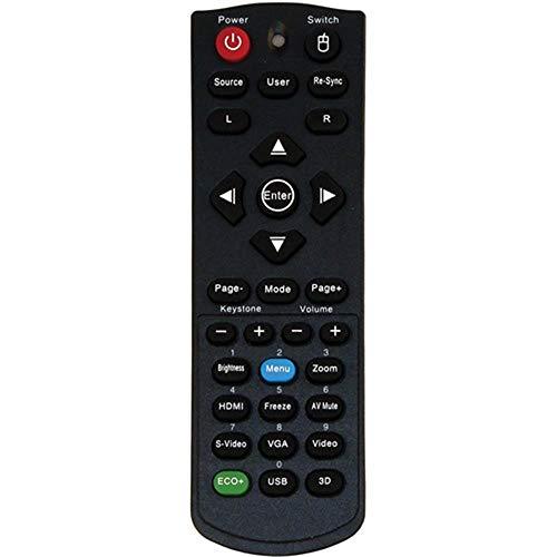 AuKing - Mando a distancia para proyector DLP Optoma DX326 GT760 GT760A W303ST X305ST DW326E DX326 H180X W305ST X301 DX5100 S303 X303 W303 BR320 BR325
