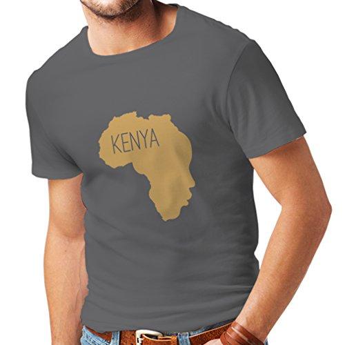 lepni.me Heren T-shirt Save Kenia - Politiek Shirt, Vrede Zeggen