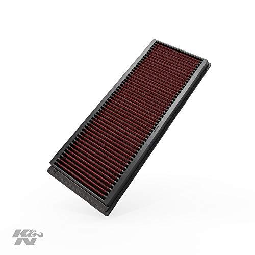 K&N 33-2181 Motorluftfilter: Hochleistung, Prämie, Abwaschbar, Ersatzfilter, Erhöhte Leistung, 1998-2015 (G550, R500, S400 Hybrid, C300, G500, 450, 500, GL 550, andere ausgewählte Modelle)