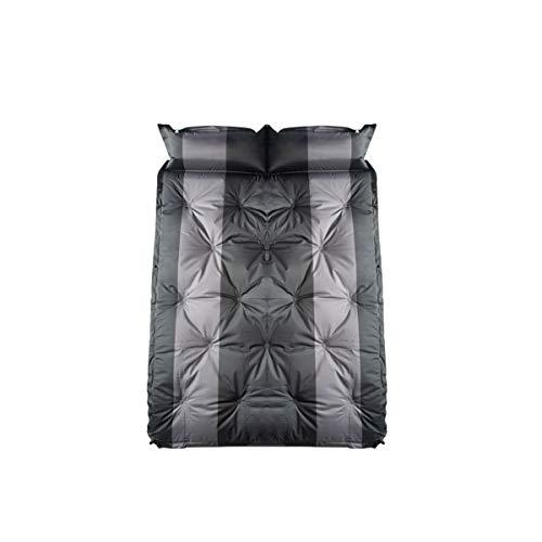 LXUXZ Colchón Inflable para Coche Cama Air De Auto Viaje Camping Senderismo Cama Hinchable Plegable para El Reposo De Sueño Sofá Hinchable (Color : Black, Size : 192x132cm)