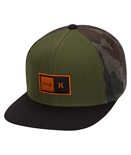 Hurley M Natural Hat Gorras, Hombre, Legion Green, 1SIZE