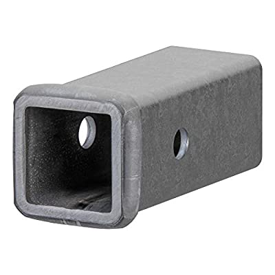 CURT 49060 2-Inch x 6-Inch Weld-On Raw Steel Trailer Hitch Receiver Tube