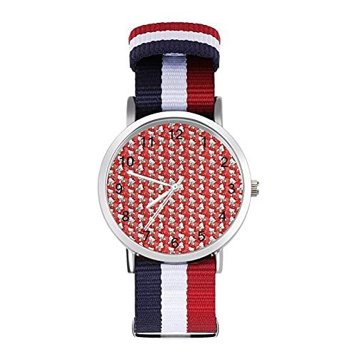 Reloj de ocio para adultos con diseño de Hello Kitty de dibujos animados, moderno, bonito y personalizado, de aleación, para hombres y mujeres