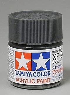 Tamiya America, Inc Acrylic XF24, Flat Dark Gray, TAM81324